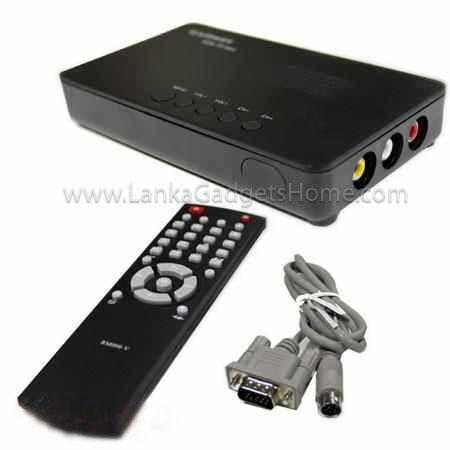 GADMEI TV2810E TV TUNER COMBO BOX   LankaGadgetsHome   +94